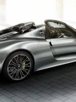 Porsche 918 Spyder offers optional 'Liquid' shade paint