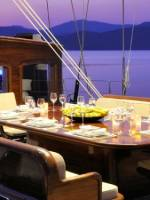 Superyacht Regina_Dining Area