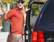 Matthew McConaughey drives Lincoln MKX