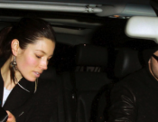 Whether she goes shopping or to a restaurant, Jessica Biel seems to prefer riving around in her white Audi Q7.