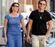 Bon Jon Jovi with his partner