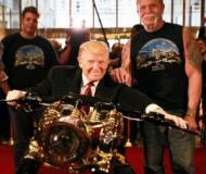 Donald Trump's new custom chopper by Paul Sr.