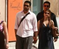 During vacations with her husband, Abhishek Bachchan