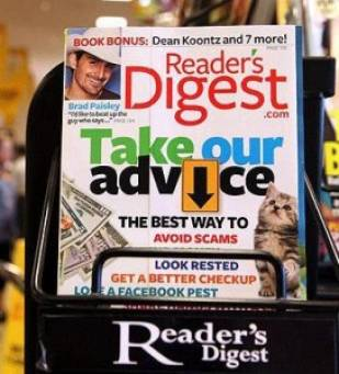 Reader's Digest sold for just 1 Pound