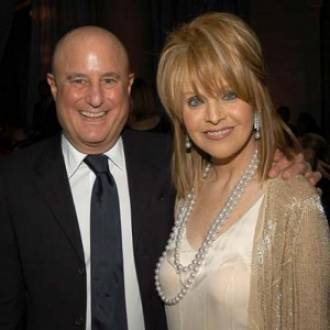 Ronald Perelman with his second wife Claudia Cohen