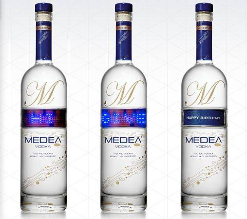 medea vodka programmable bottles 1