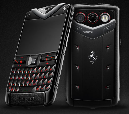 Ferrari 458 Italia inspired, Vertu Constellation Quest Ferrari