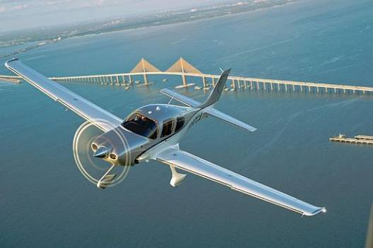 The all-new 2012 Cirrus SR22 aircraft with refurbished seating and ownership programme