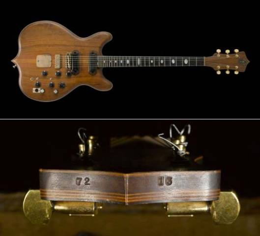 Jerry Garcia's custom electric guitar sold for $62,500