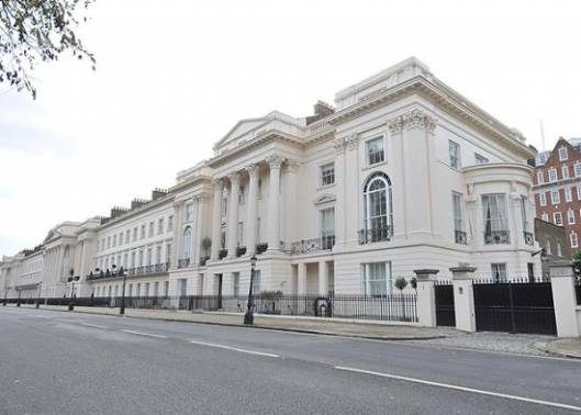 One of Britain's most expensive homes 'One Cornwall Terrace' sells for a record $120 Million
