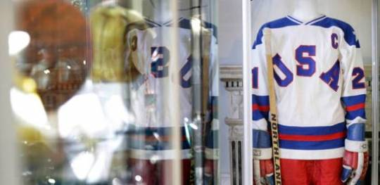 Mike Eruzione's 'Miracle on Ice' hockey jersey fetches $657,250 at Heritage Auctions