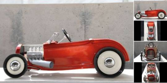 1932 Ford 'Respect Tradition' Custom Pedal Car