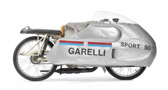Historic Garelli Racing Motorcycles goes on auction