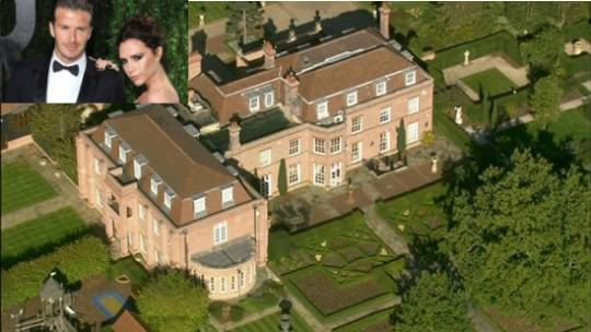 The Beckhams and the Beckingham Palace