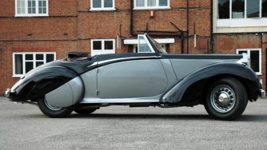 winston churchill 1939 daimler db18 drophead coupe