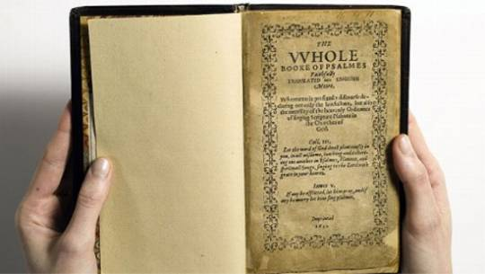 1640 Bay Psalm Book copy stated to become the most expensive book ever sold