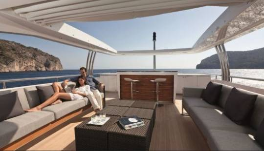 Princess 40M Sun deck