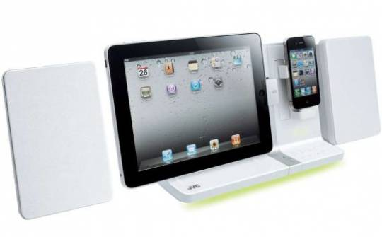 JVC Apple product docking station