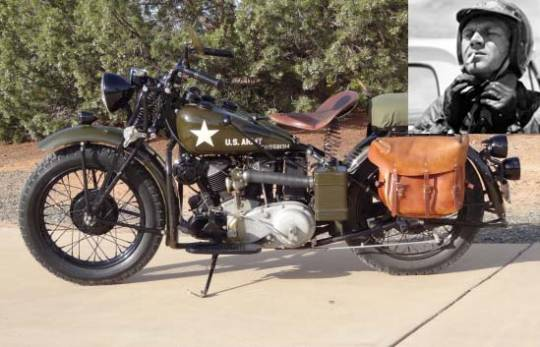 Steve McQueen 1941 Indian 741 military scout