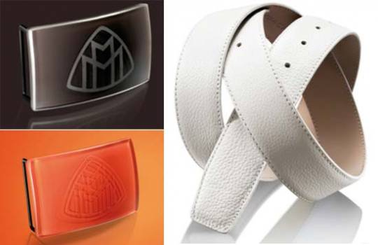 Designed to Distinguish Maybach Leather Accessories lets you make the most of every occasion