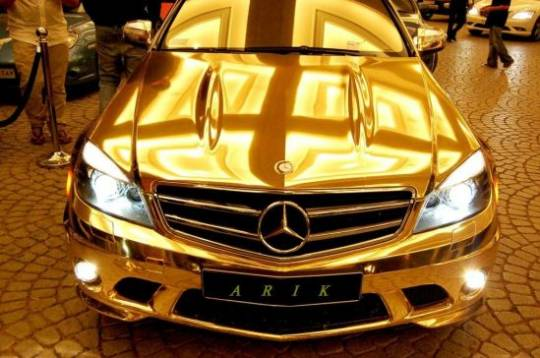gold mercedes benz c63 amg 2 1E7ep 52