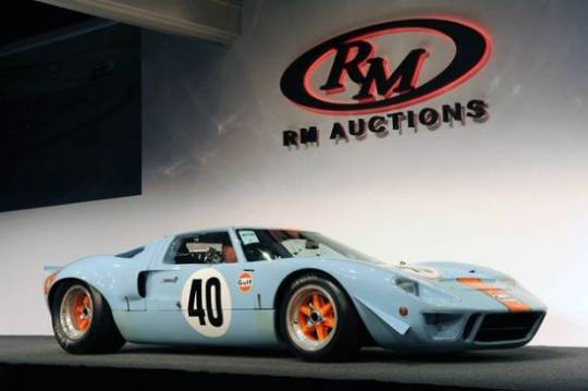 1968 Ford GT40 Gulf/Mirage Lightweight Racing cars