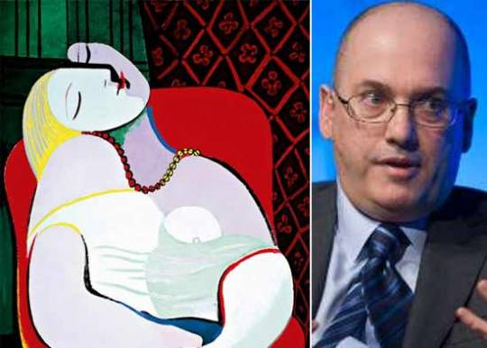 Steve Cohen and Le Reve Painting