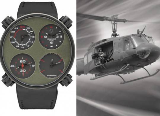 Meccaniche Veloci Starfighter helicopter watch