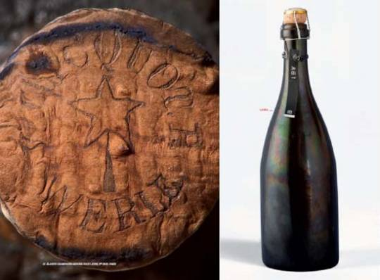 Bottle Champagne Veuve Clicquot Ponsardin – Archaeological Reference N° A61