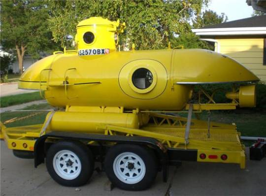 Kittredge K350 1ATM submarine