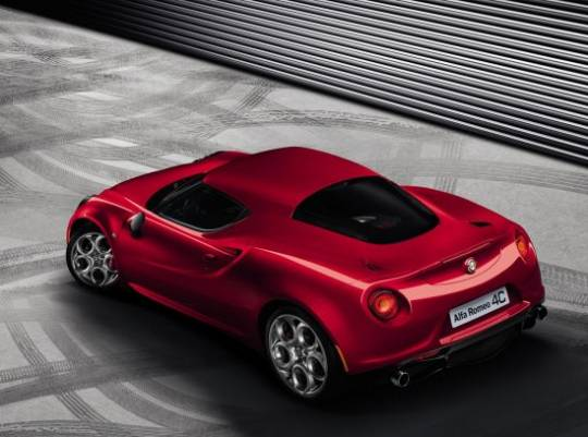 Production Alfa Romeo 4C debuting at 2013 Geneva Motor Show will mark the return of Italian brand to U.S.