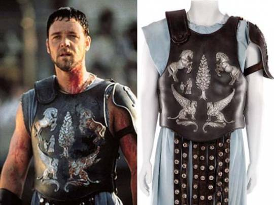 Chest armour from the legendary movie Gladiator