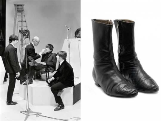George Harrison's pair of signature 'Beatle' boots, circa 1964George Harrison's pair of signature 'Beatle' boots, circa 1964