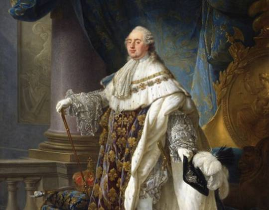 King Louis XVI painting