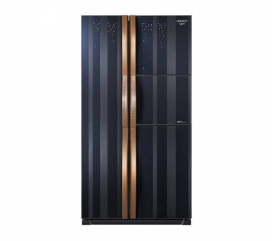 Samsung's limited edition refrigerator studded with gem stones retails at Harrods, UK