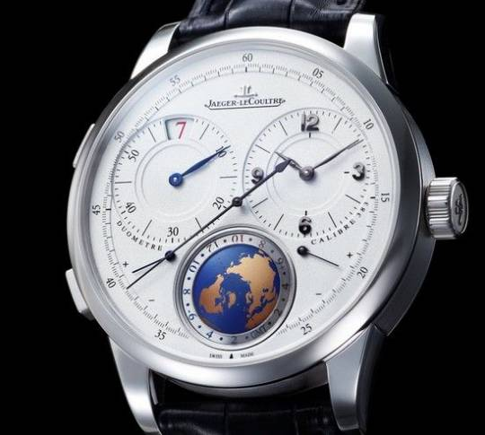 Jaeger-LeCoultre's Duomètre Unique Travel Time Watch is for Elite Travellers