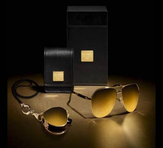 The Dolce and Gabbana gold edition sunglasses