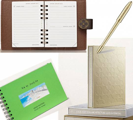 Louis Vuitton is all set to expand their stationery range