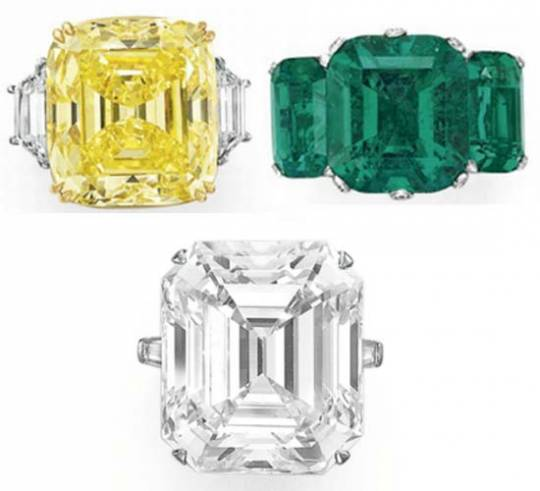 Engagement Rings auction at Christie's