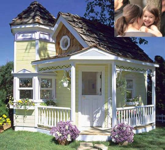 $24,000 playhouse for Suri Cruise