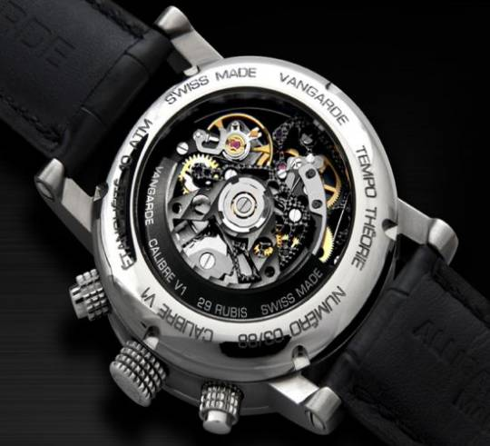 Vangarde's first wristwatch with a 29 jewel horological movement