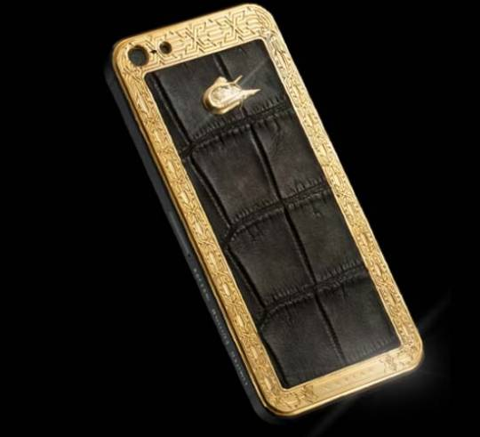 CAVIAR iPhone 5 Unico Alligatore LE