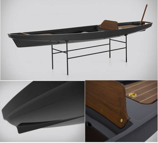 McLellan Jacobs carbon fiber kayak
