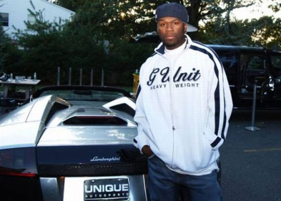 photo of 50 Cent Lamborghini - car