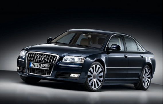 The singer has a fascination for high end luxurious cars including Audi A8