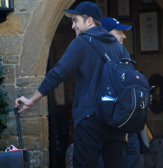 Robert has been spotted several times with his SwissGear Scansmart Laptop Backpack