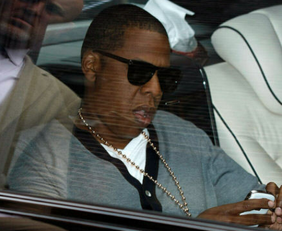 Jay Z's prefers Blackberry over other smartphones.