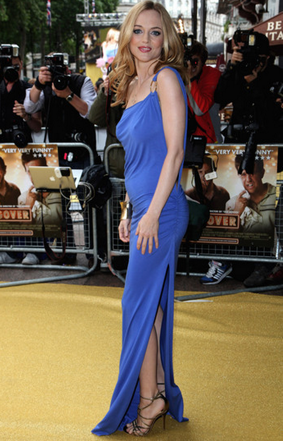 Heather Graham has been spotted wearing the same dress on number of film festivals.