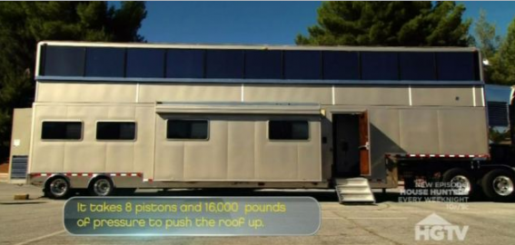 Vin Diesel's double story mobile mansion