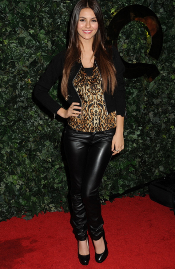 Victoria Justice has been spotted wearing Aldo Destime Heel several times.